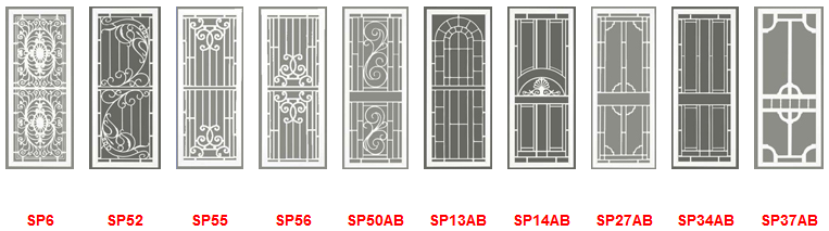 security screen door patterns for Adelaide homes  sc 1 st  Direct Shutters & Direct Shutters | Security Screen Doors Adelaide pezcame.com